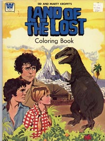 Land of the Lost dot com - Coloring Book